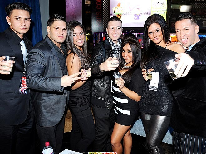 jersey shore season 4 cast. The cast of Jersey Shore is
