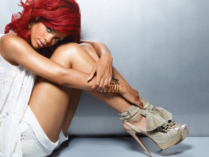 rihanna red hair dye. me Rihanna+red+hair+hot