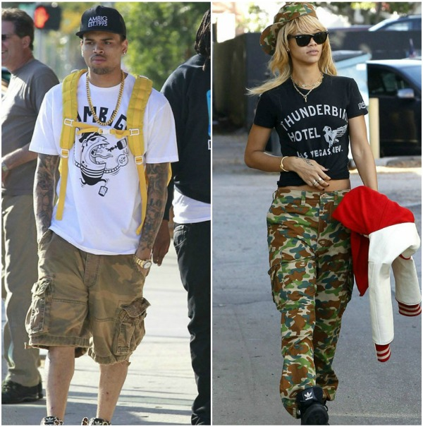 Rihanna Celebrates Birthday With Chris Brown