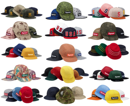 Supreme Spring Summer Hat Collection 729bc58cc7f