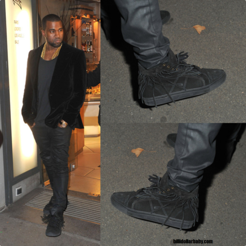 Fashion Kanye West Trussardi 1911 Sneakers