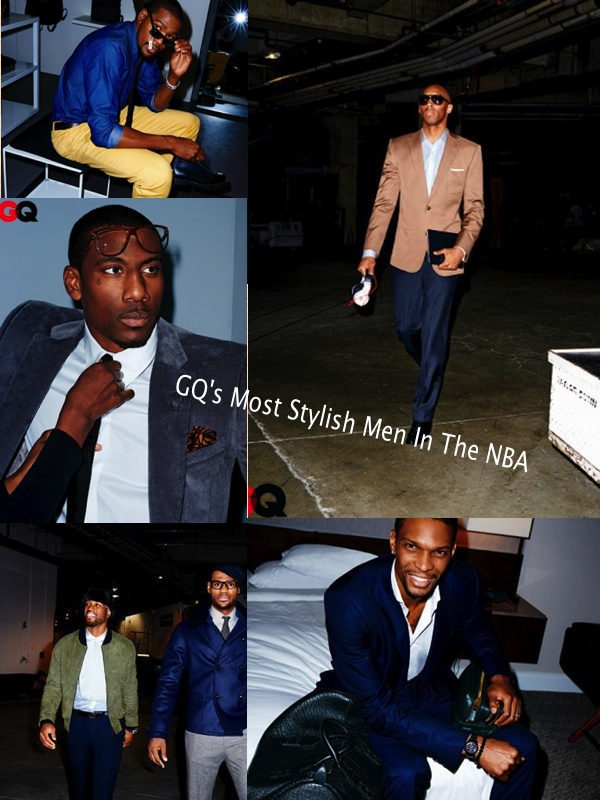 stylish men in the NBA