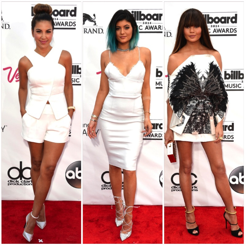 All White Looks Billboard Awards